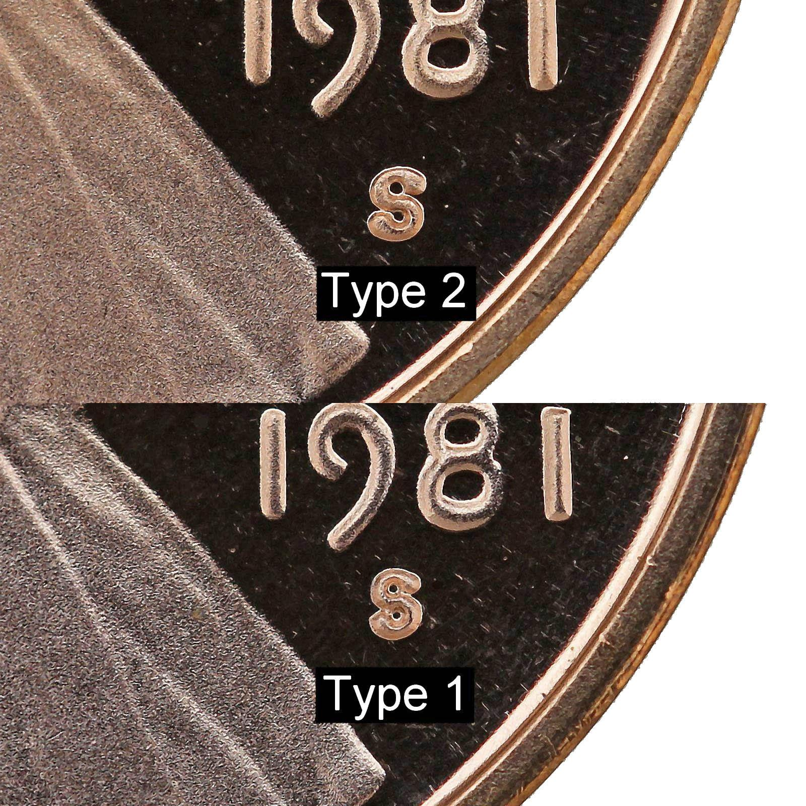 Details about 1981 S Lincoln Memorial Cent Type 1 Gem Deep Cameo Proof Penny