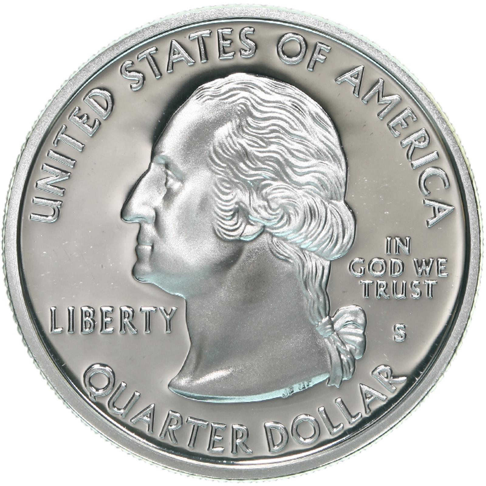 1999-S-State-Quarter-New-Jersey-Gem-Proof-Deep-Cameo-90-Silver-US-Coin