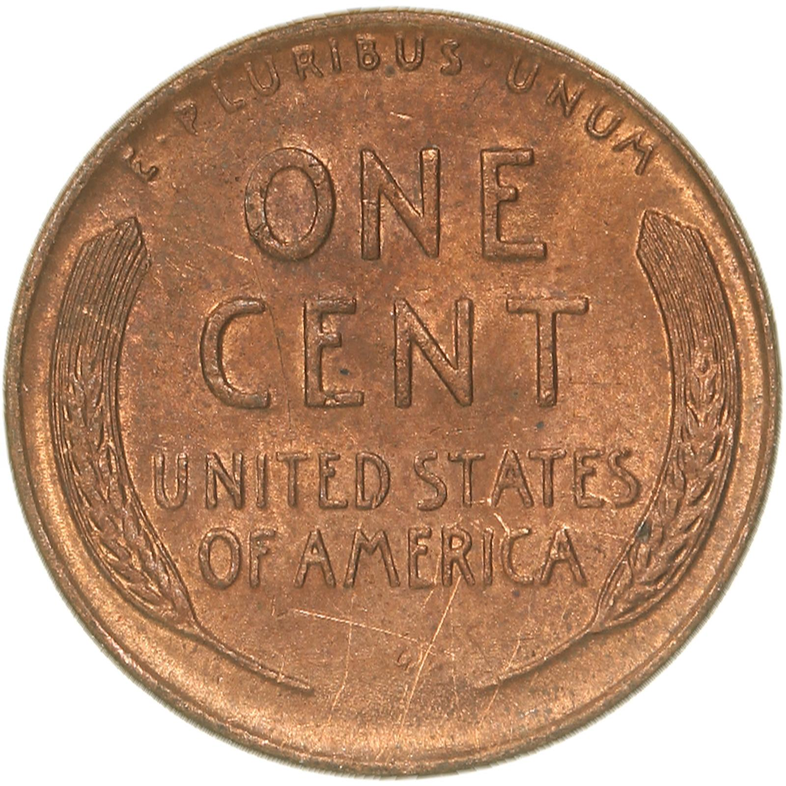 1920 Lincoln Cent almost uncirculated