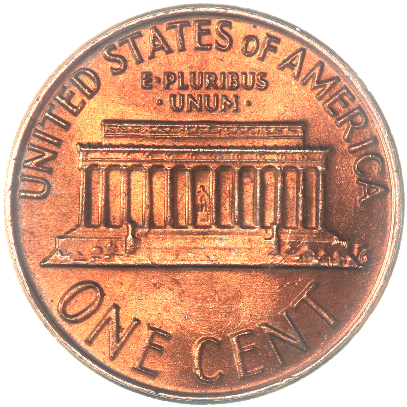 1978 Lincoln Memorial Cent Choice BU Penny US Coin 2